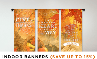 thanksgiving banner for hanging