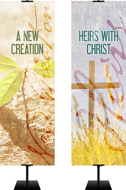 banners designed for christian identity