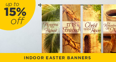 church easter banners