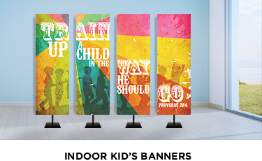 indoor banners for kids ministry