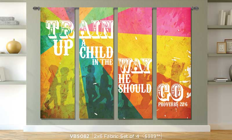 kids ministry banners for churches