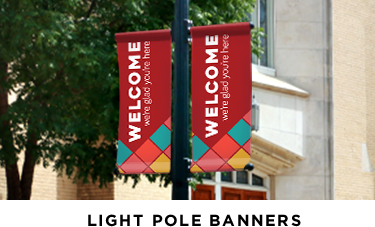 light pole banner images