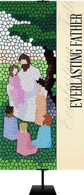 Christian Mosaic banner designs