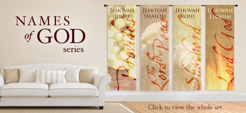 Fabric hanging banners