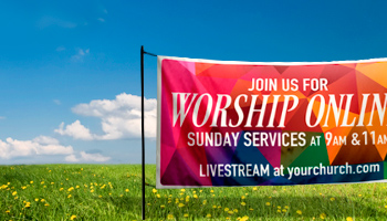 custom outdoor banners for churches