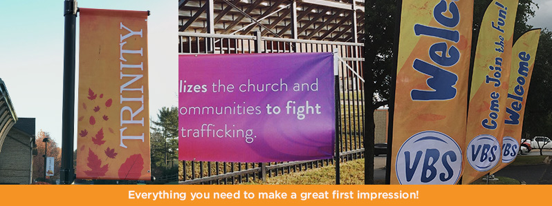 outdoor church banner image