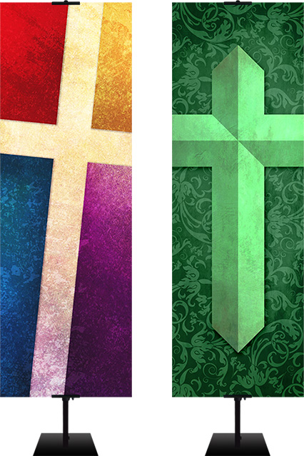 pattern design banners for churches