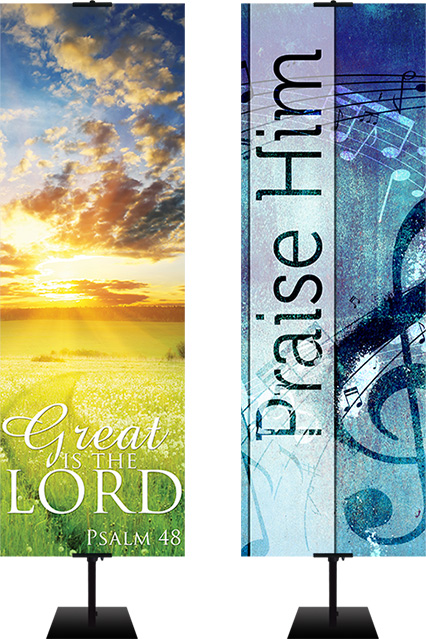 praise banners for church