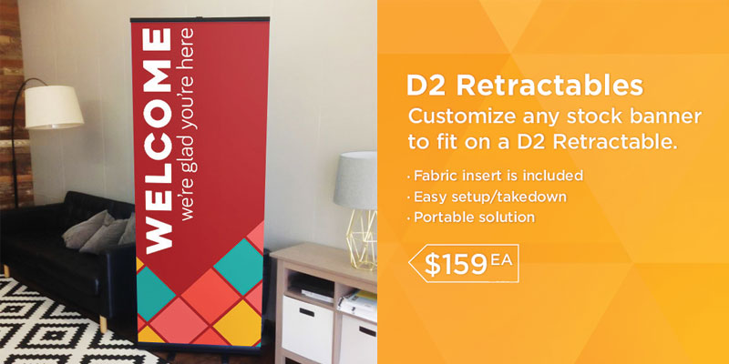 popup banners and retractable banner stands