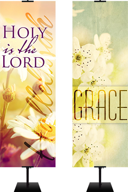 Spring Worship Banners for churches