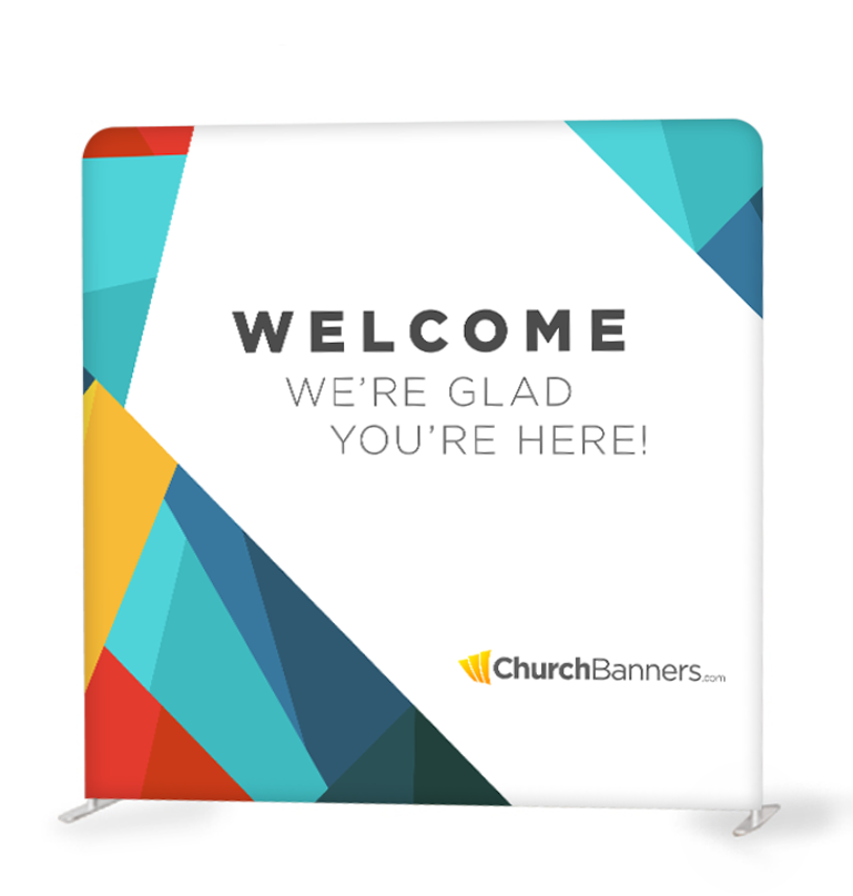 Stock and Custom Backdrop Banners for Churches