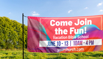 outdoor vbs kids banners