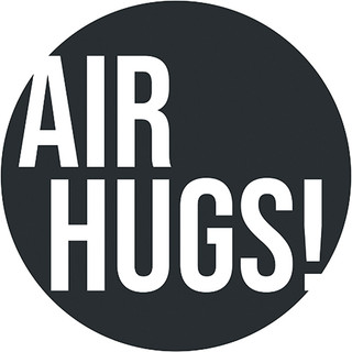 Air Hugs Circle Floor Decal - Adhesive Vinyl