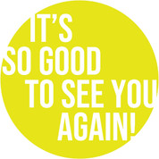 So Good to See You Circle Floor Decal - Adhesive Vinyl