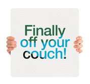 COVID ReOpen Handheld - Style 7 - Off Your Couch