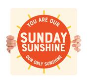 COVID ReOpen Handheld - Style 9 - Sunday Sunshine