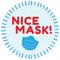 Nice Mask Circle Floor Decal - Adhesive Vinyl Sticker