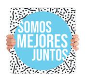 COVID ReOpen Handheld - Style 1 Spanish - Somos Mejores Juntos
