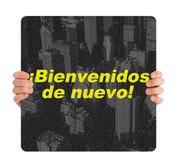 COVID ReOpen Handheld - Style 2 Spanish - Bienvenidos de Nuevo