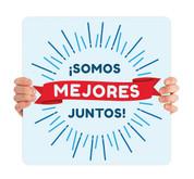 COVID ReOpen Handheld - Style 11 Spanish - Somos Mejores Juntos