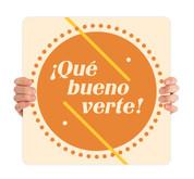 COVID ReOpen Handheld - Style 12 Spanish - Qué Bueno Verte