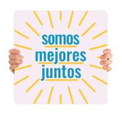 COVID ReOpen Handheld - Style 16 Spanish - Somos Mejores Juntos