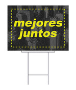 Spanish Yard Sign