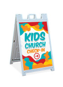 Kids Church Sandwich Sign