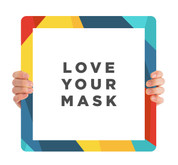 ReOpen Handheld - Design Collection Style 4 - Love Your Mask
