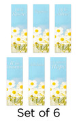 Set of 6 Easter Daisies Church Banners
