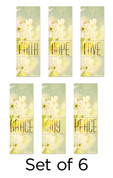 Set of 6 Spring Worship Banners Church Banners