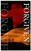3x5 Crosses Forgiven Church Banner