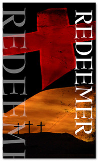 3x5 Crosses Redeemer Church Banner