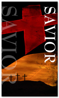 3x5 Crosses Savior Church Banner