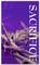 3x5 Purple Crown Forgiven Church Banner