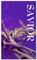 3x5 Purple Crown Savior Church Banner
