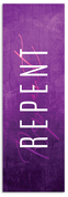 Repent Lent Banner