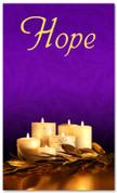 Advent Banner - ADV001 Hope Purple