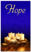 Advent Banner - ADV005 Hope Blue