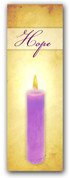 Advent Banner - ADV011 Hope Candle
