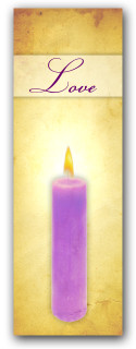 Advent banner in fabric adv013