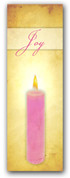 Advent banner in fabric adv014