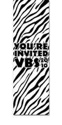 VBS111 Zebra Print