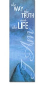 I AM 11 Way Truth Life blue