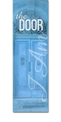 I AM 15 The Door blue