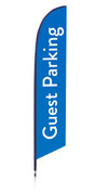 Feather - Outdoor Banner A18
