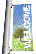 DS Light Pole Banner - Welcome 5