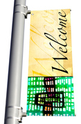 DS Light Pole Banner - Welcome 6