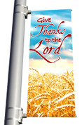 Light Pole Banner - Fall Harvest 4 DS
