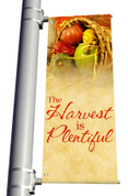 Light Pole Banner - Fall Harvest 7 DS